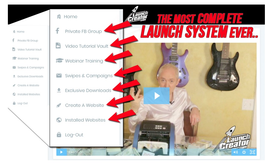 the launch creator system by jamie lewis